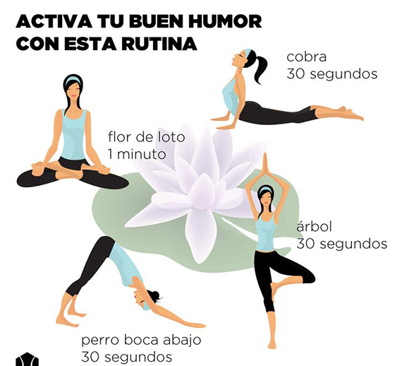 yoga buen humor