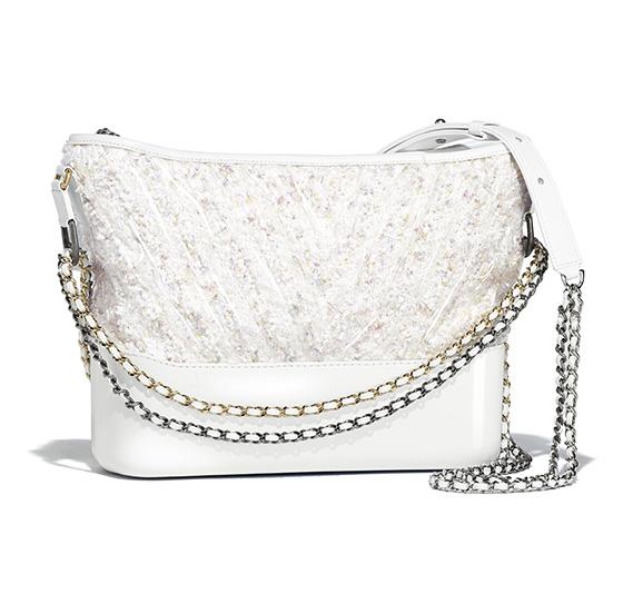 gabrielle de chanel bolso blanco