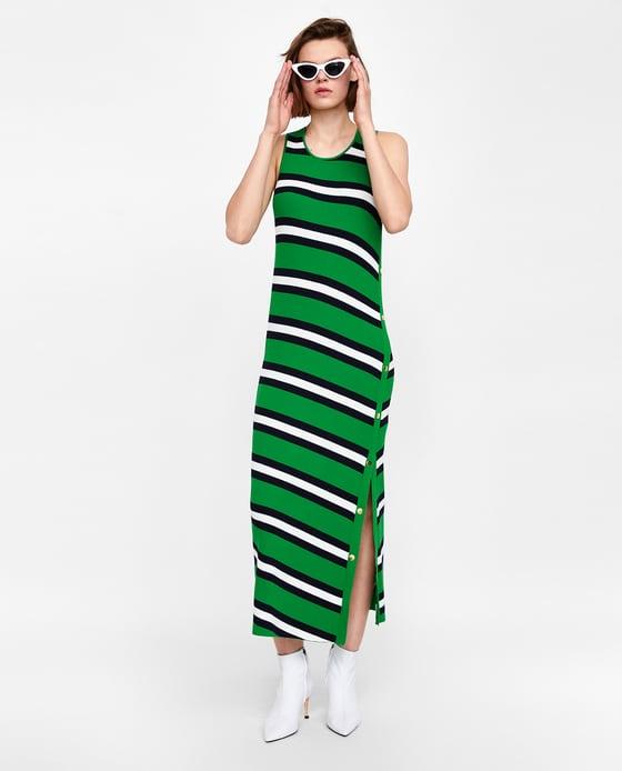 vestido zara verano