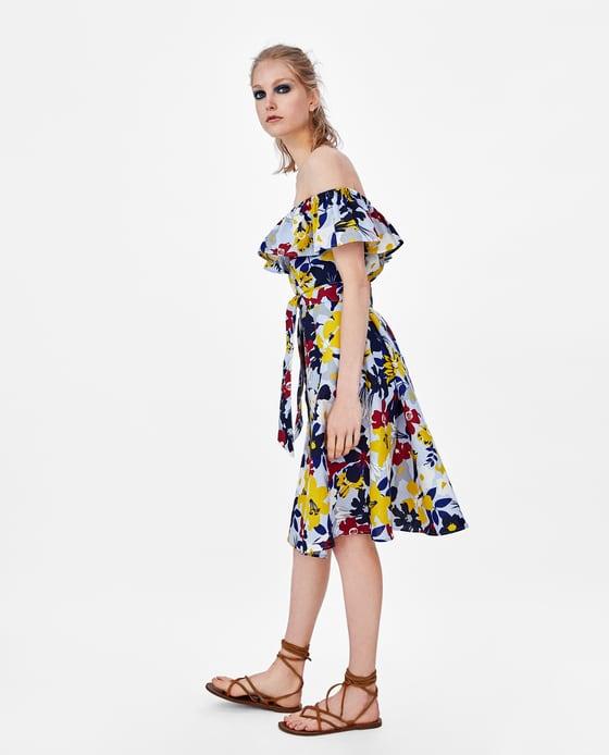vestidos zara mujer