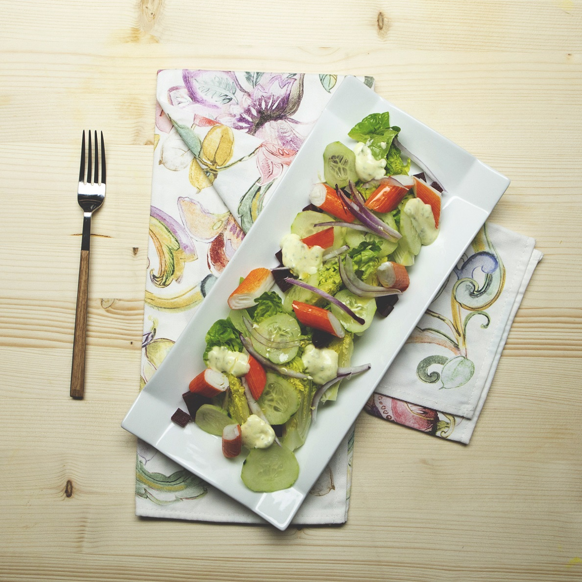 ensalda de verduras