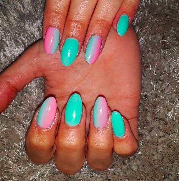 tendencia color uñas