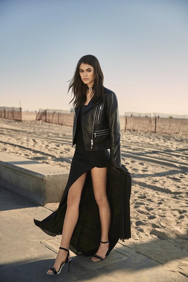 La modelo Kaia Gerber diseña para Karl Lagerfeld