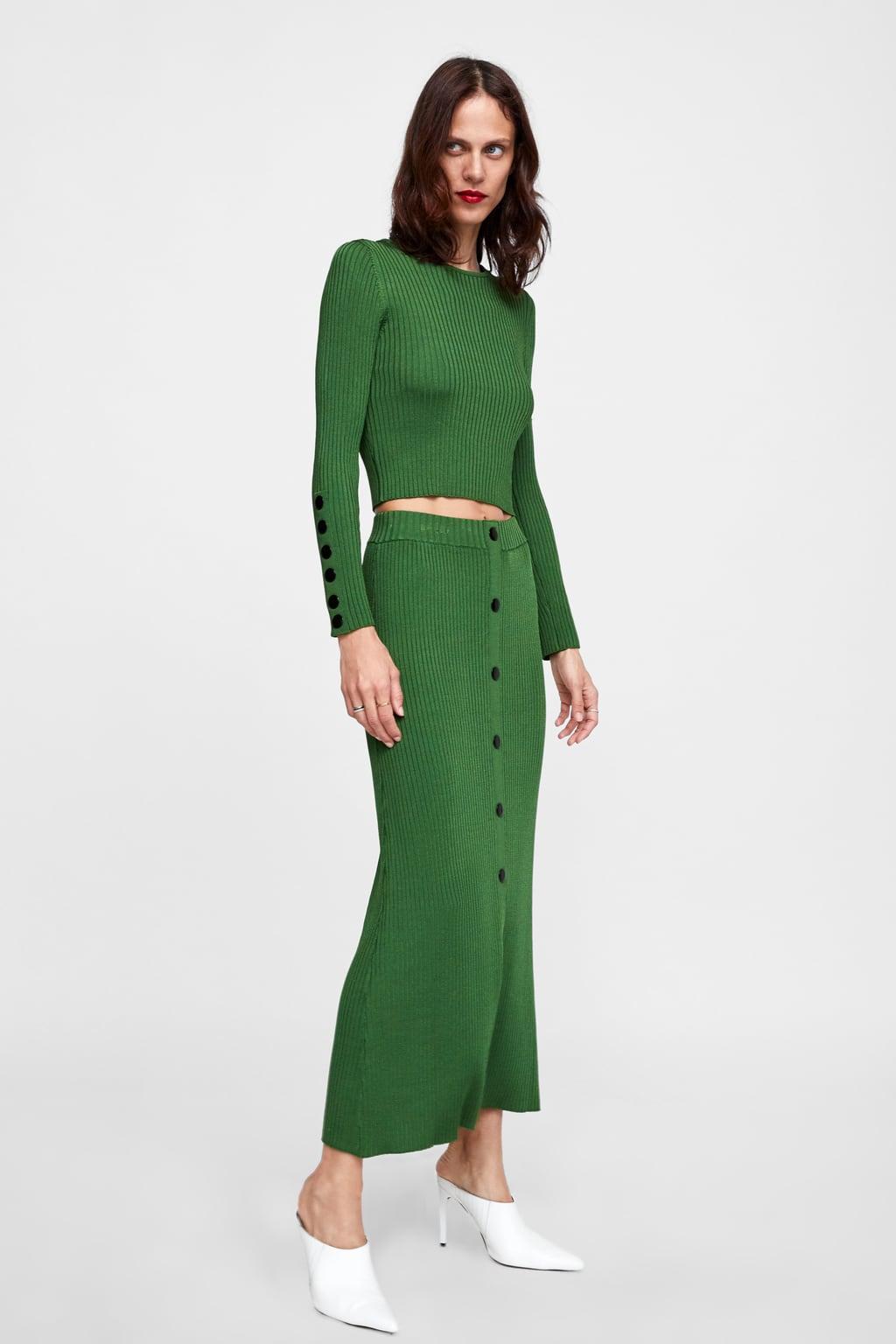 verde zara tendencia