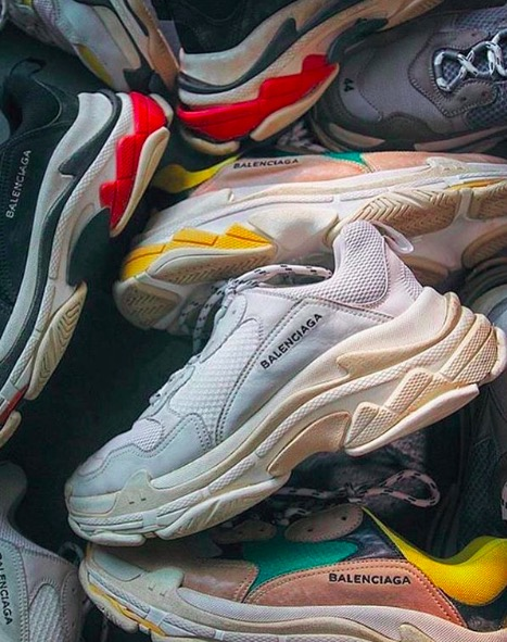 Ugly Shoes Balenciaga Triple S