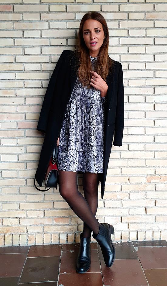 Paula Echevarria looks invierno