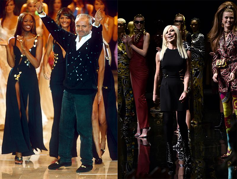 Versace Gianni and Donatella