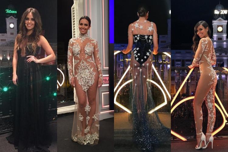 Vestido Cristina Pedroche Campanadas 2019