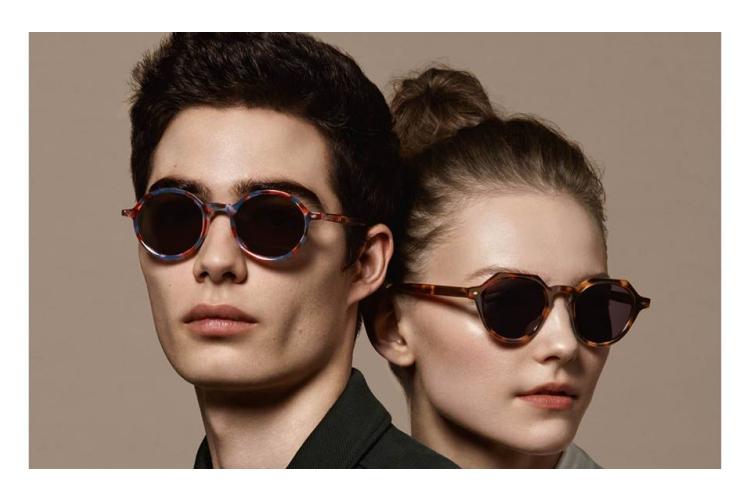 gafas de sol forma de cara