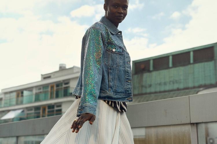 Falda Cruzada tendencia H&M