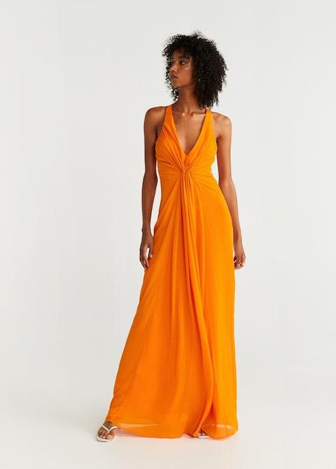 Vestido boda Mango