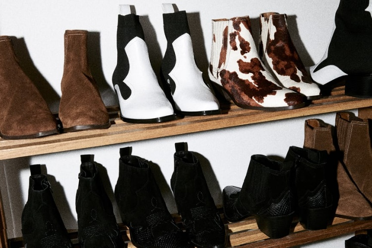 Botines cowboy Zara 2019