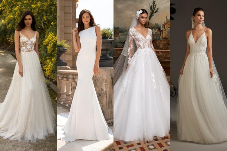 Formas vestidos de novia