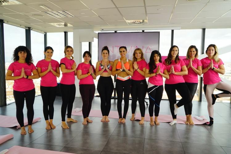 Cristina Pedroche Yoga