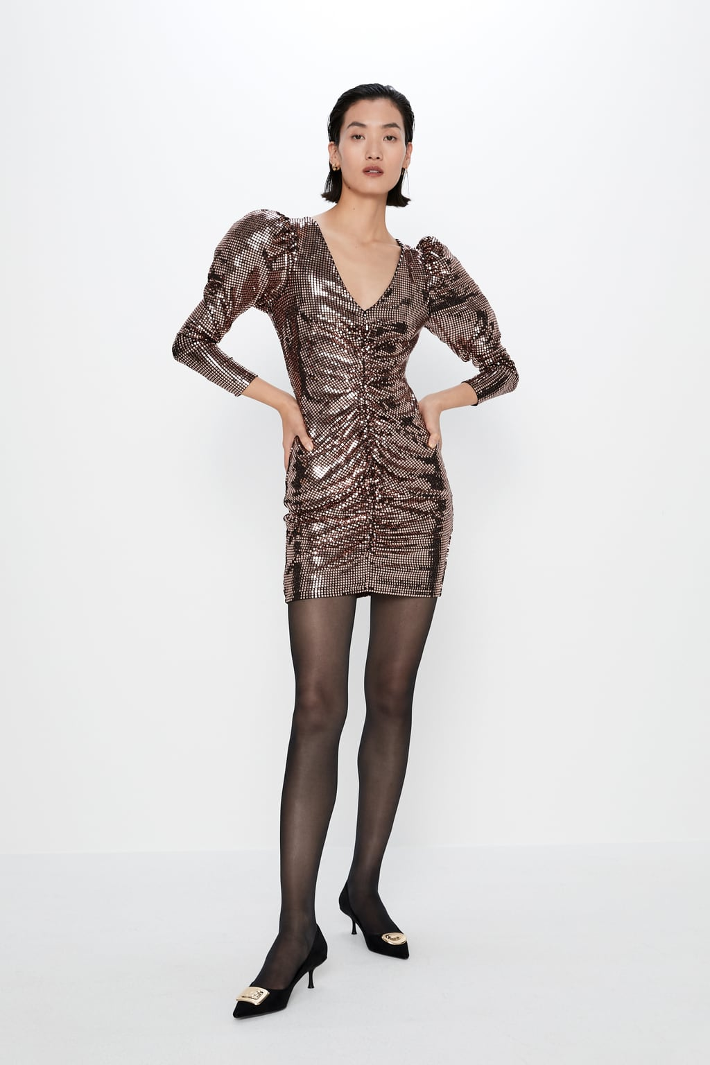 Vestidos Zara fiesta navidad