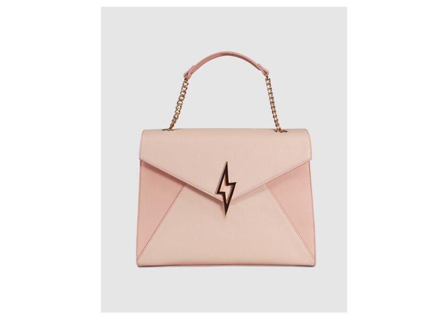 Bolso de mano Paul's Boutique en rosa con aplique