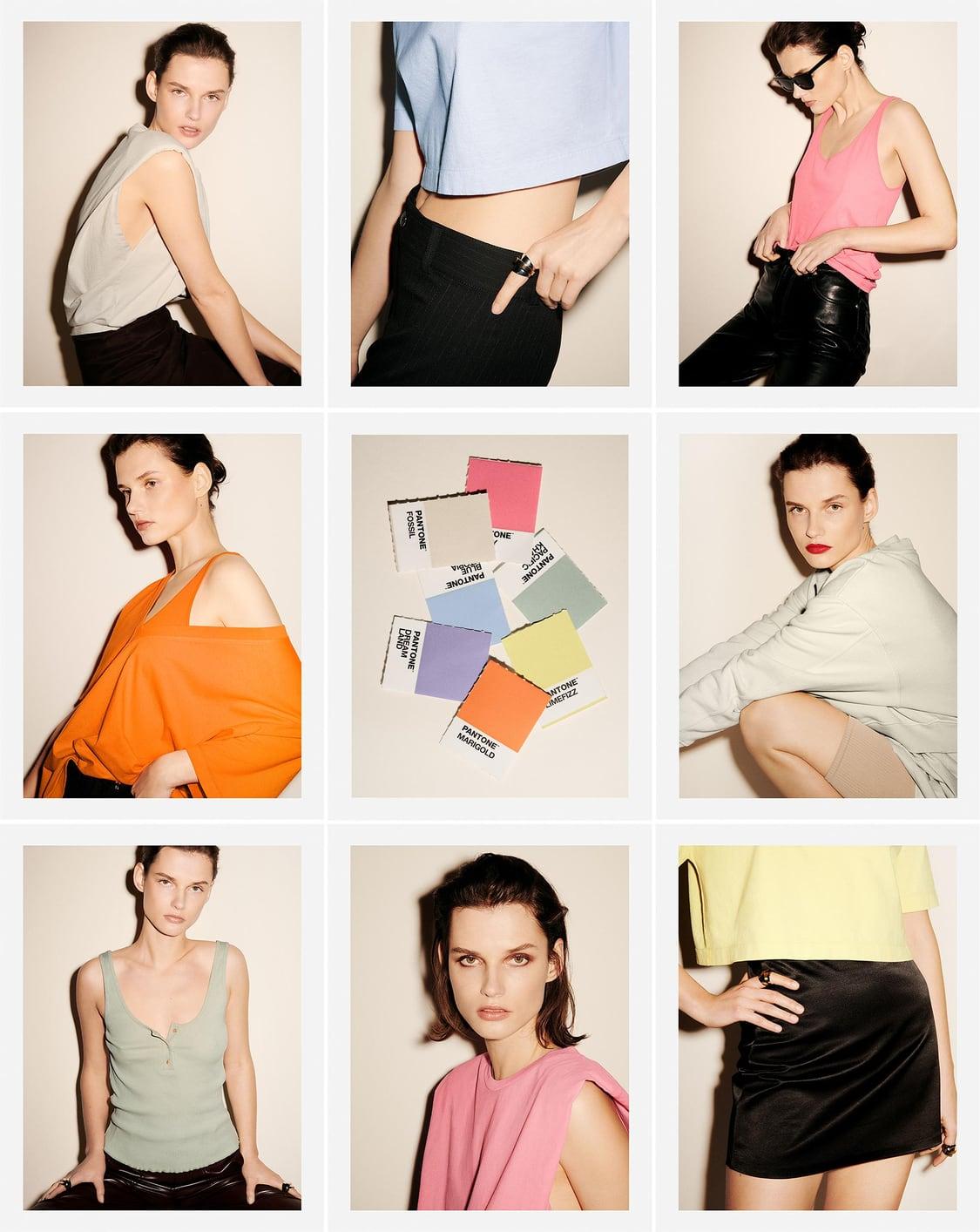 Colección Custom Color de Zara en colaboración con Pantone