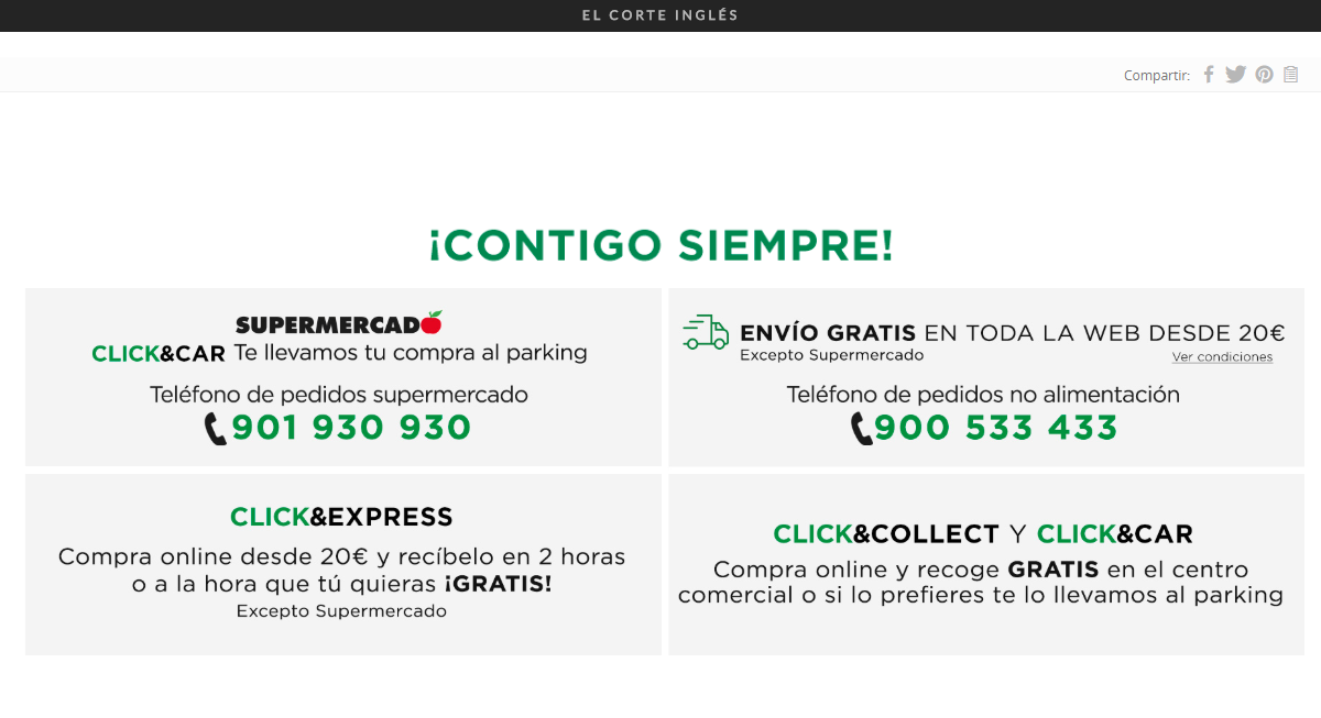 Horarios Corte Inglés Coronavirus Covid 19