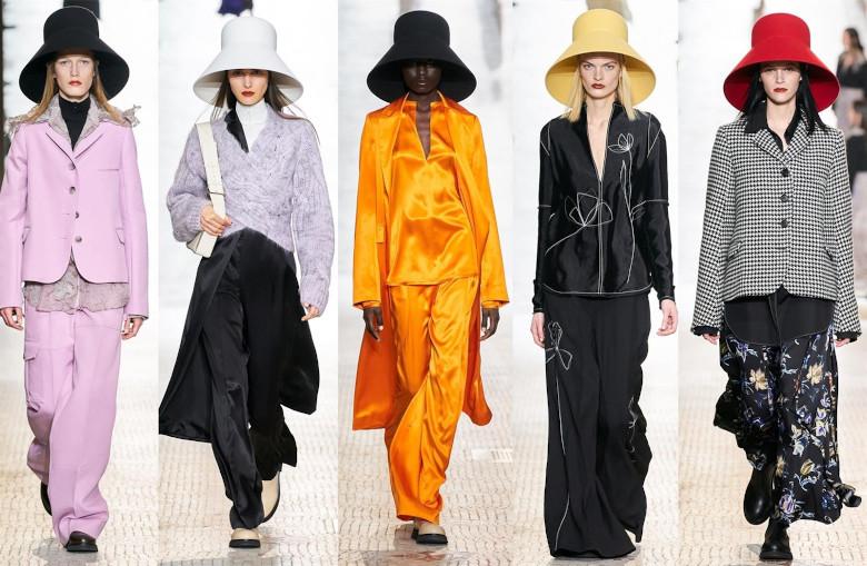 Nina Ricci, nos llena de sombreros y de color con su romanticismo el próximo otoño-invierno 2020