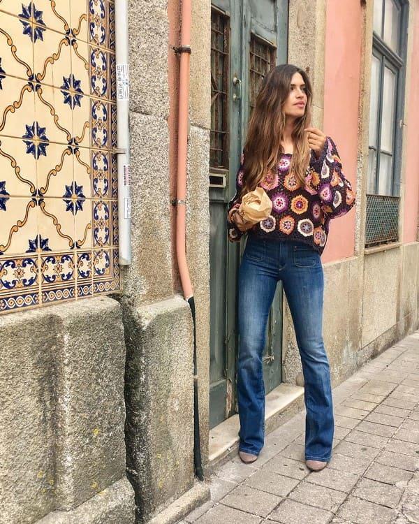 Sara Carbonero jeans
