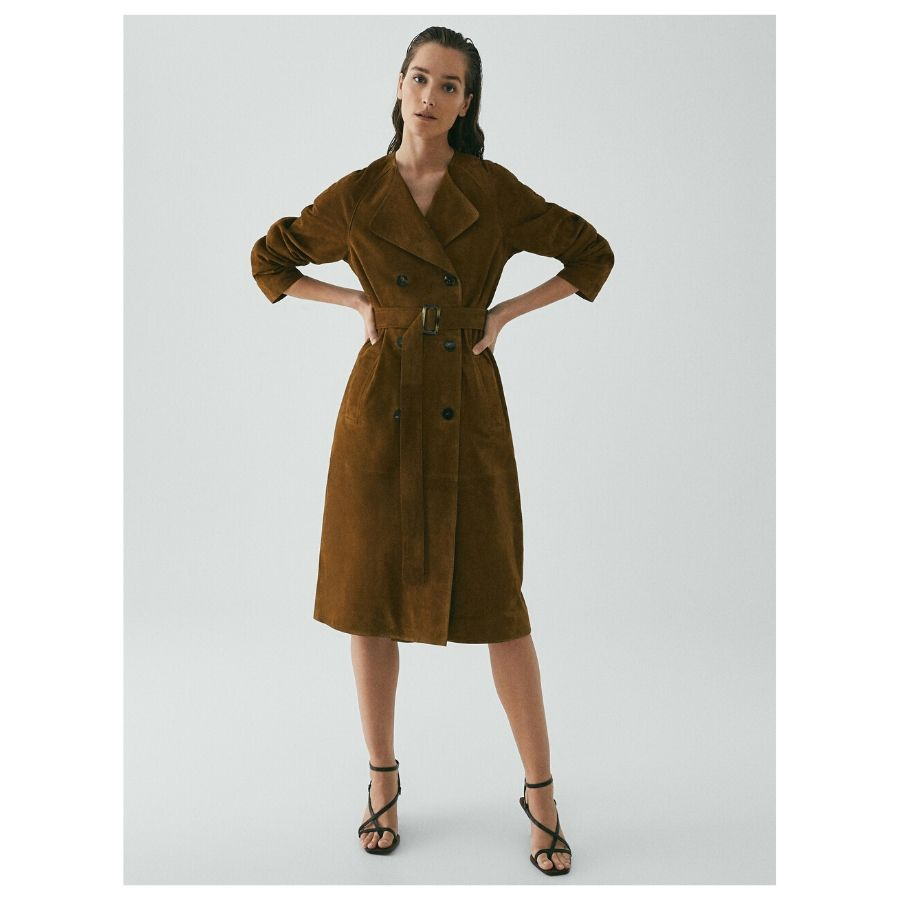 TRENCH ANTE LIMITED EDITION Massimo Dutti