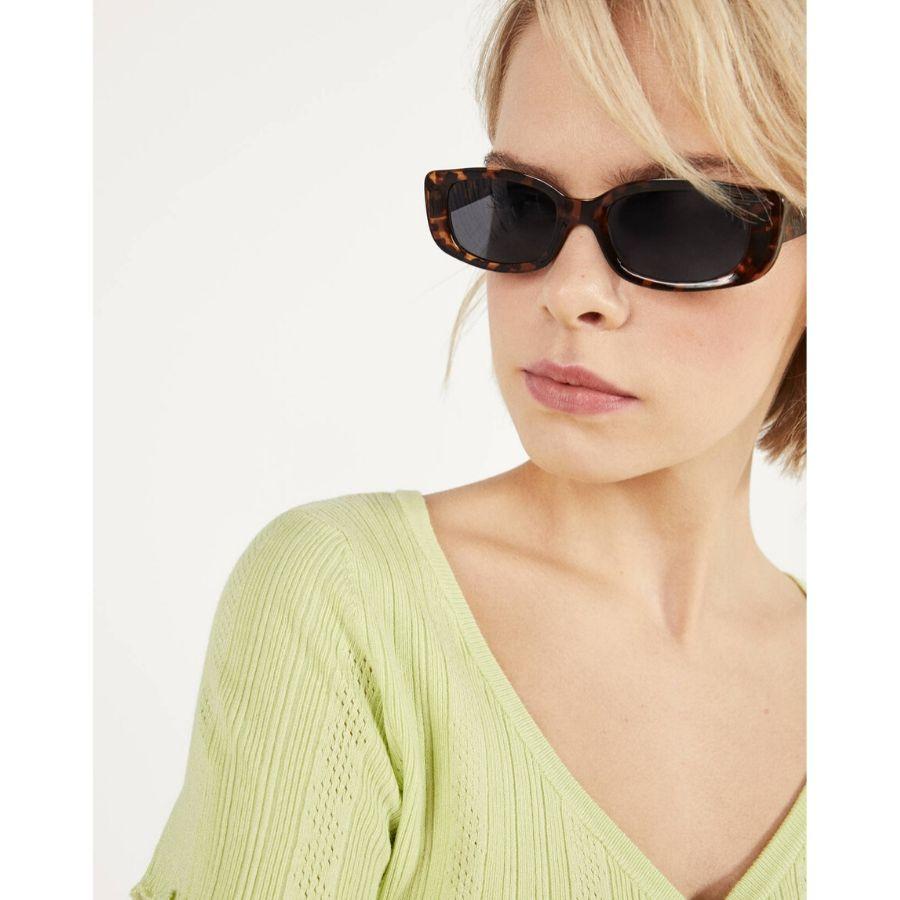 Gafas de sol carey rectangulares