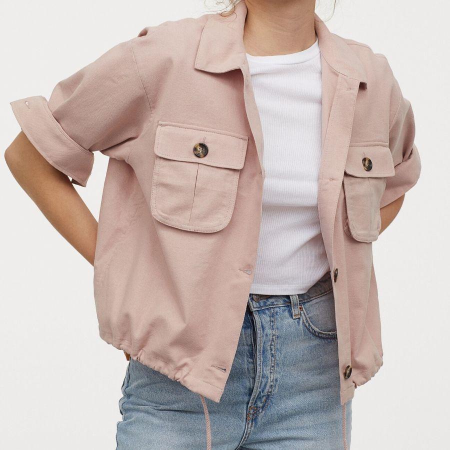 Chaqueta rosa palo H&M