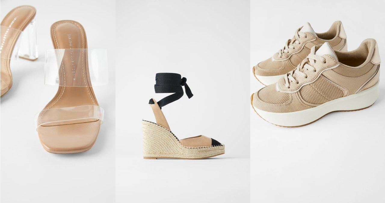 Selección zapatos y sandalias Zara Verano 2020