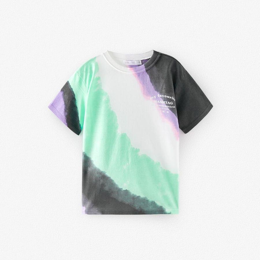 Camiseta tie dye Zara Kids