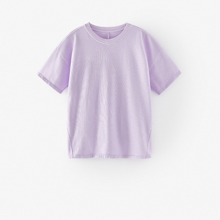 Camiseta premium algodón orgánico Zara Kids