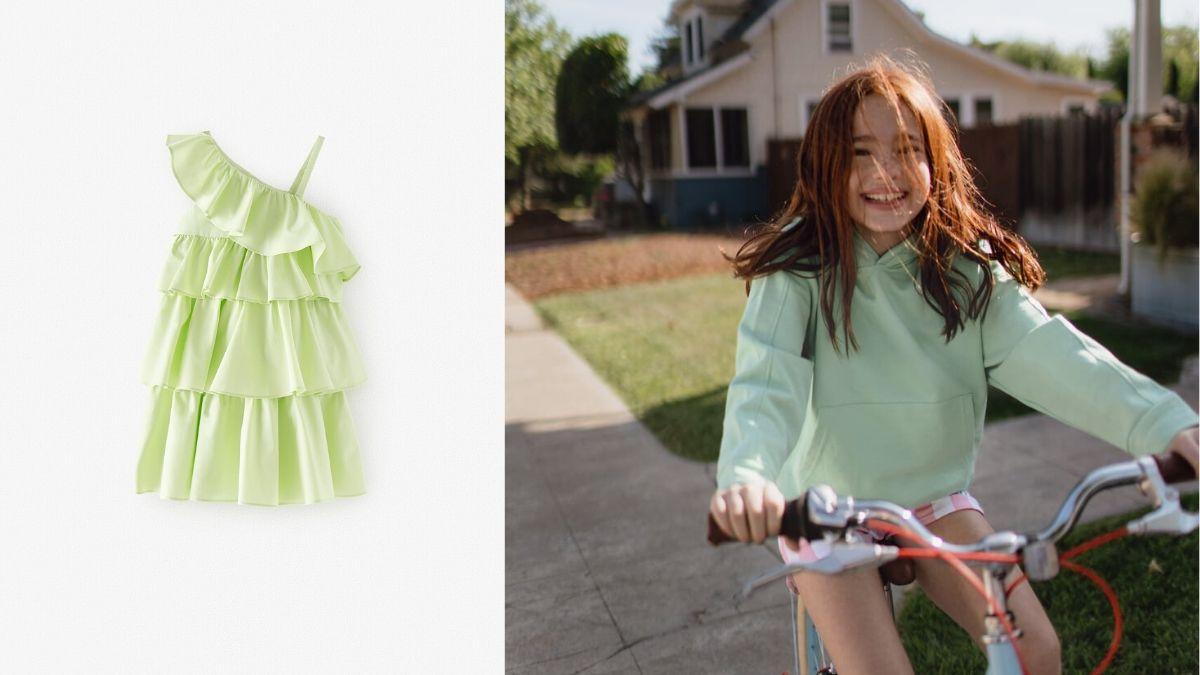 Zara Kids Colección Niña Primavera Verano 2020 Modalia.es