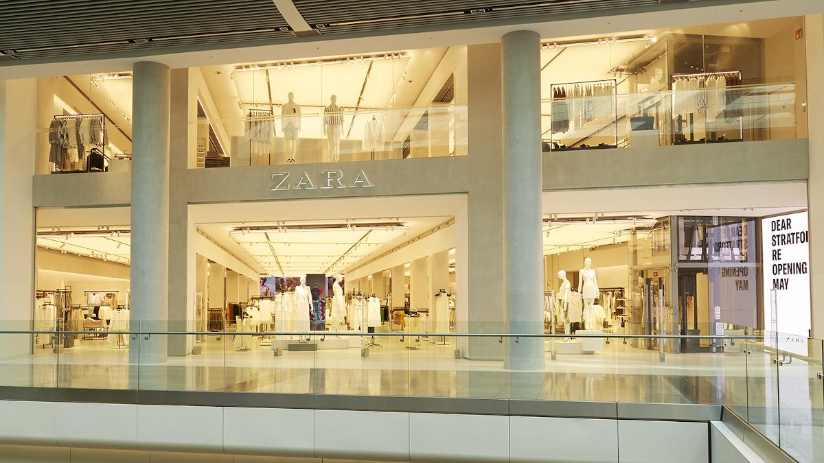 Zara abre desde hoy sus tiendas más pequeñas