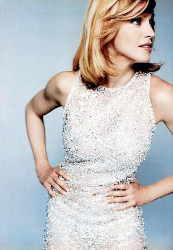 Madonna para Versace por Mario Testino