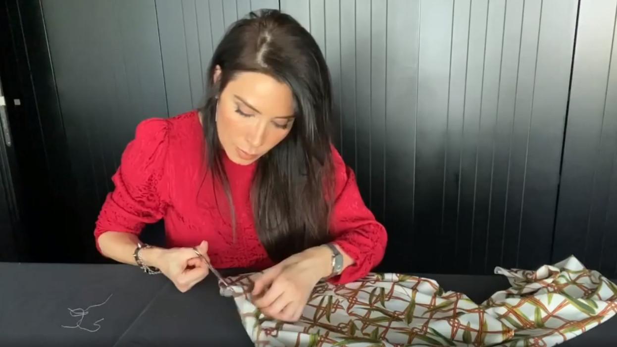 PIlar Rubio tutorial tejer vestido