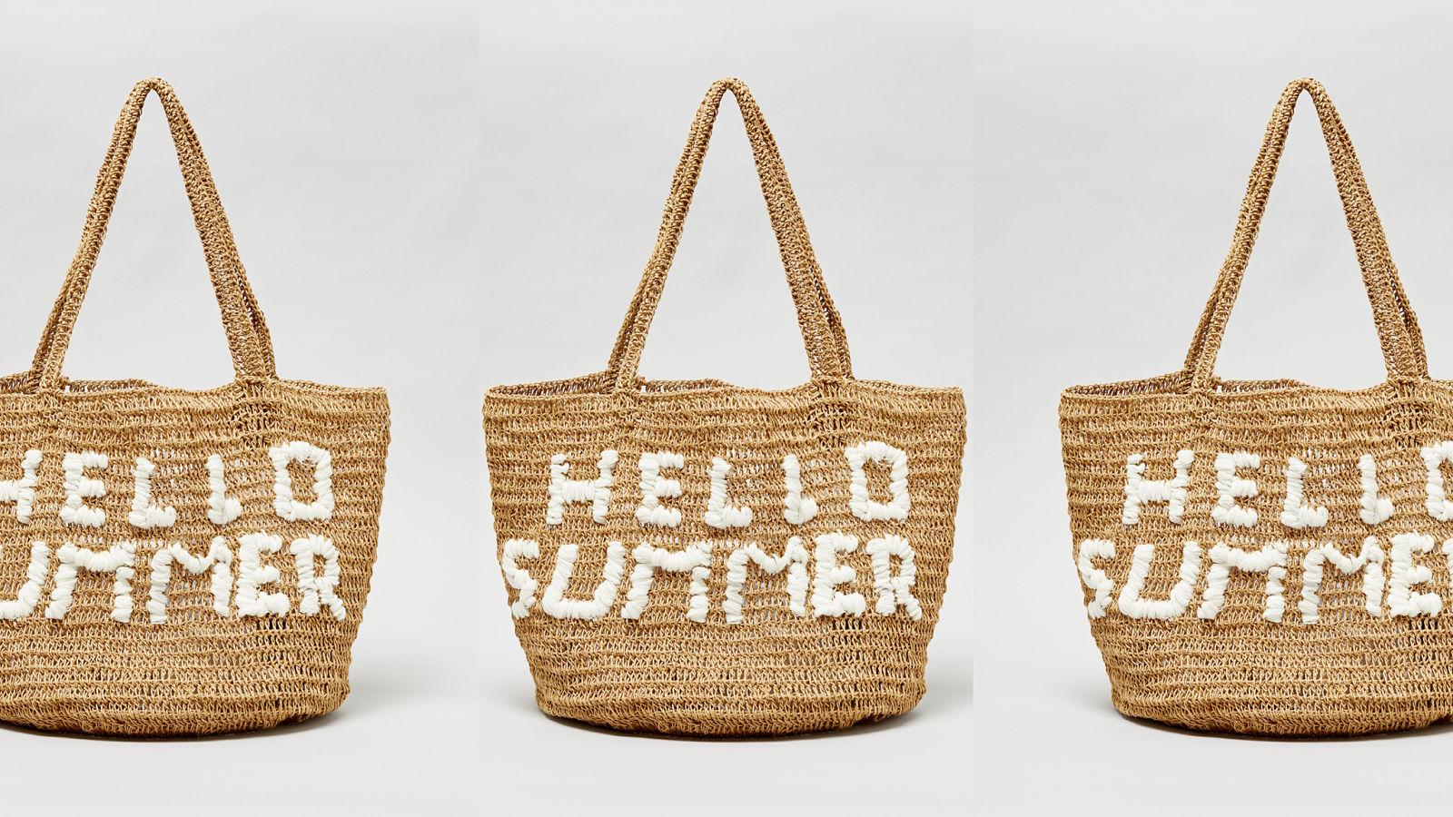 13 bolsos de playa que te enamorarán (a ti y a todos) este verano.