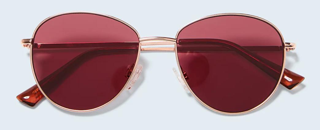 Gafas de sol montura metálica - Cobre