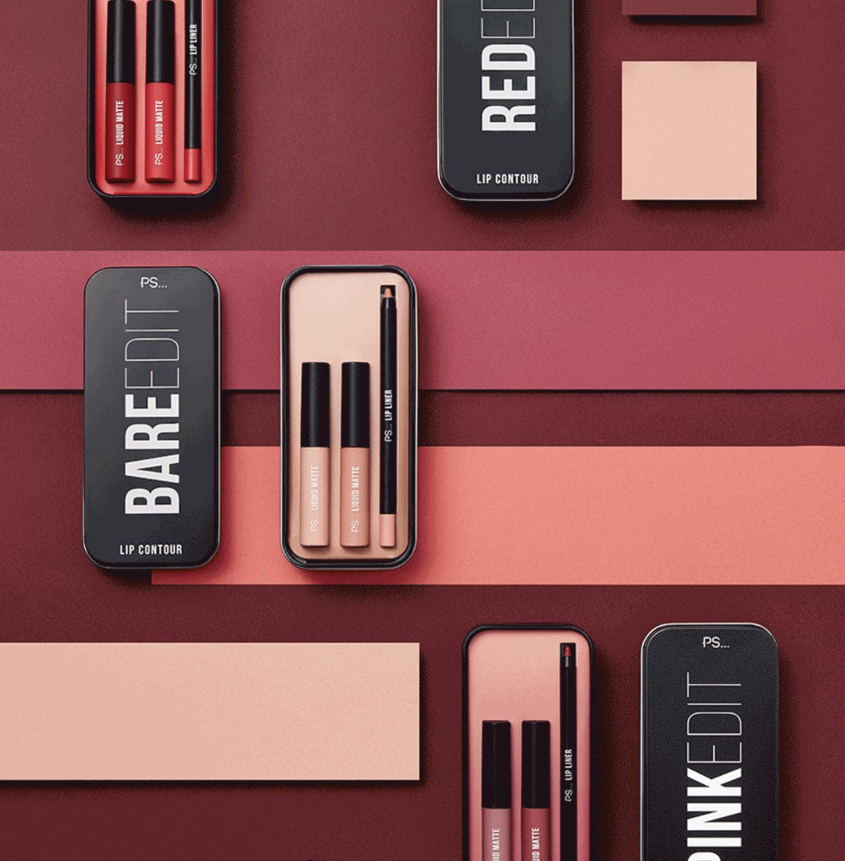 Kit de contorno de labios de Primark