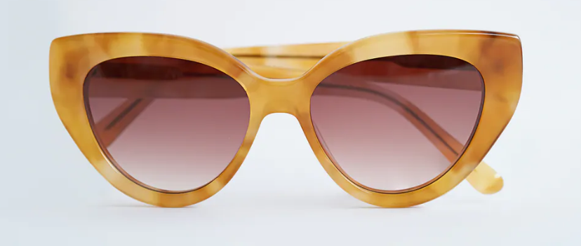 Gafas de sol de acetato - Caramelo