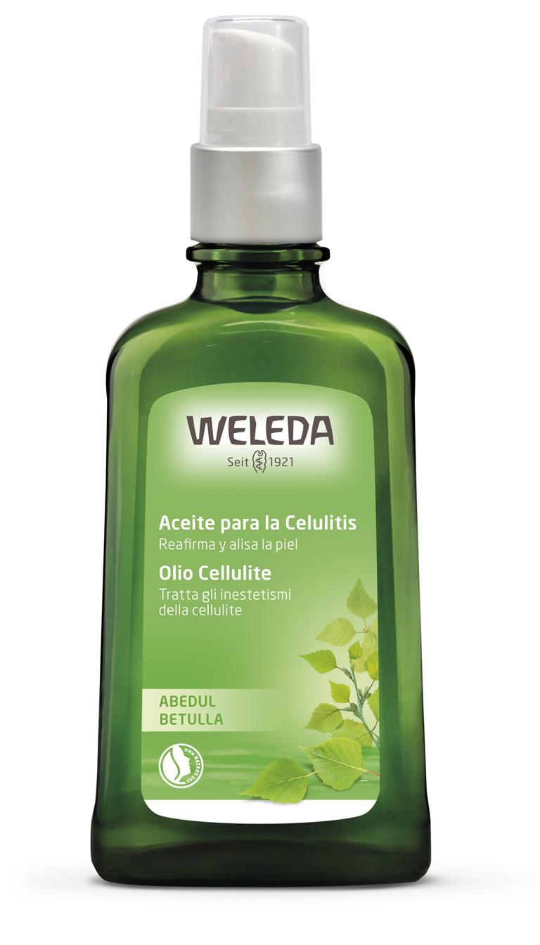 Aceite de abedul anticelulítico de Weleda
