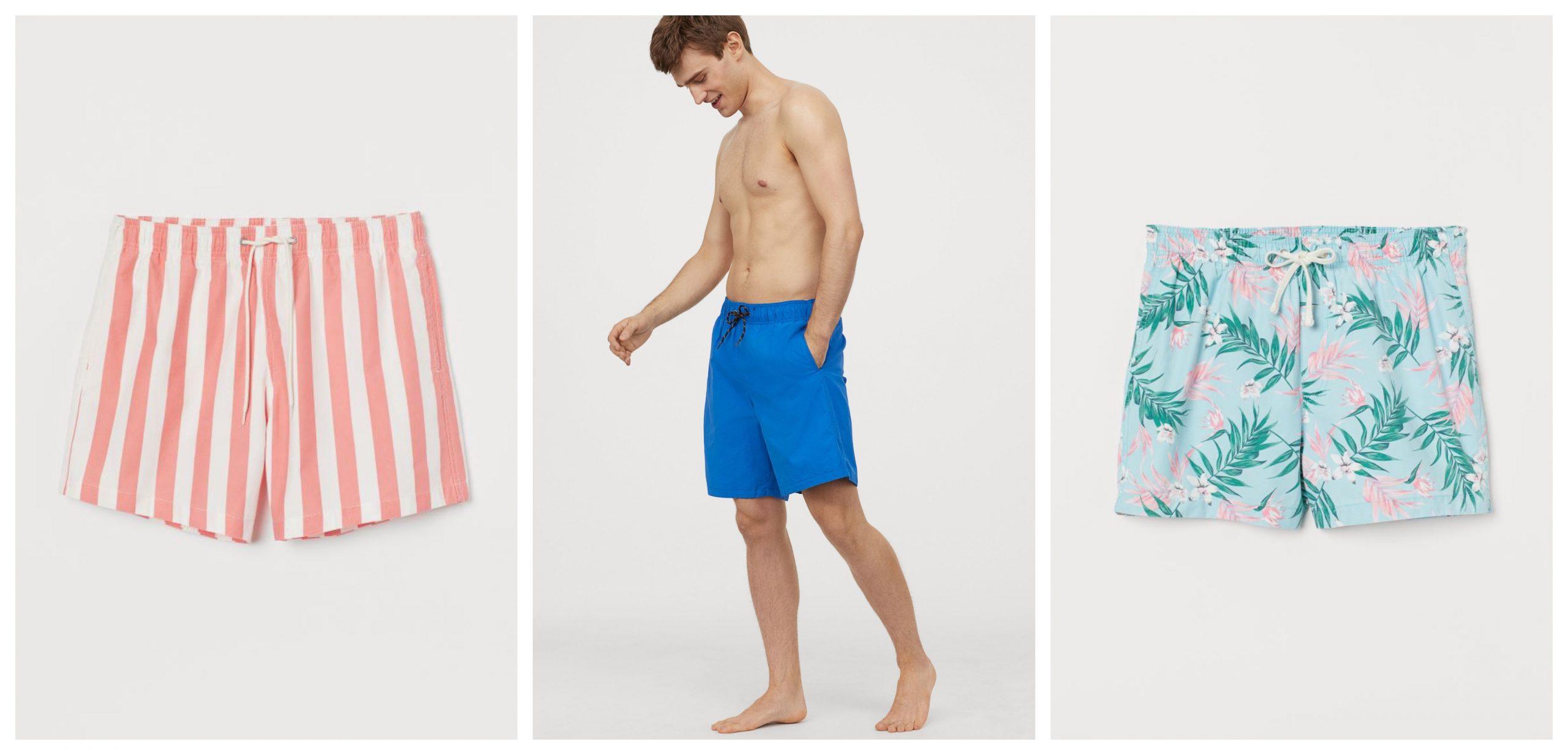 3 bañadores de H&M rebajados este verano con diferentes estampados y colores.