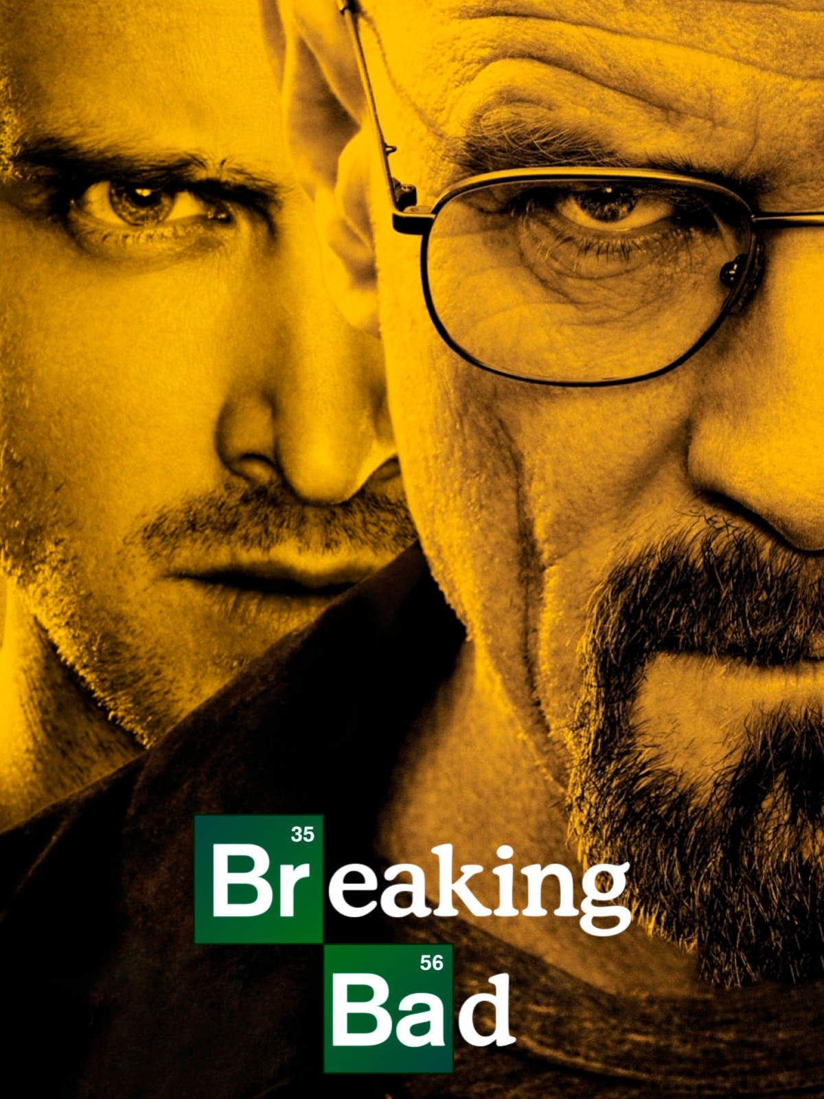 Cartel de serie de Netflix Breaking bad
