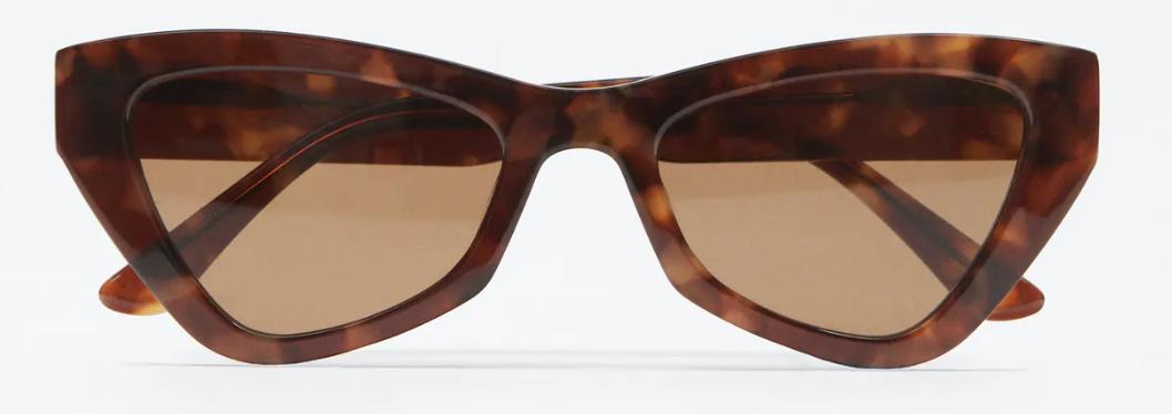 Gafas sol acetato geométricas