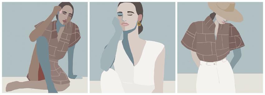 Ilustraciones realizadas por el artista mallorquín Joselu Montojo para la colección cápsula de Massimo Dutti.