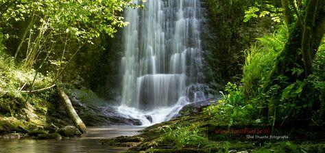 Cascada del parque natural Pagoeta
