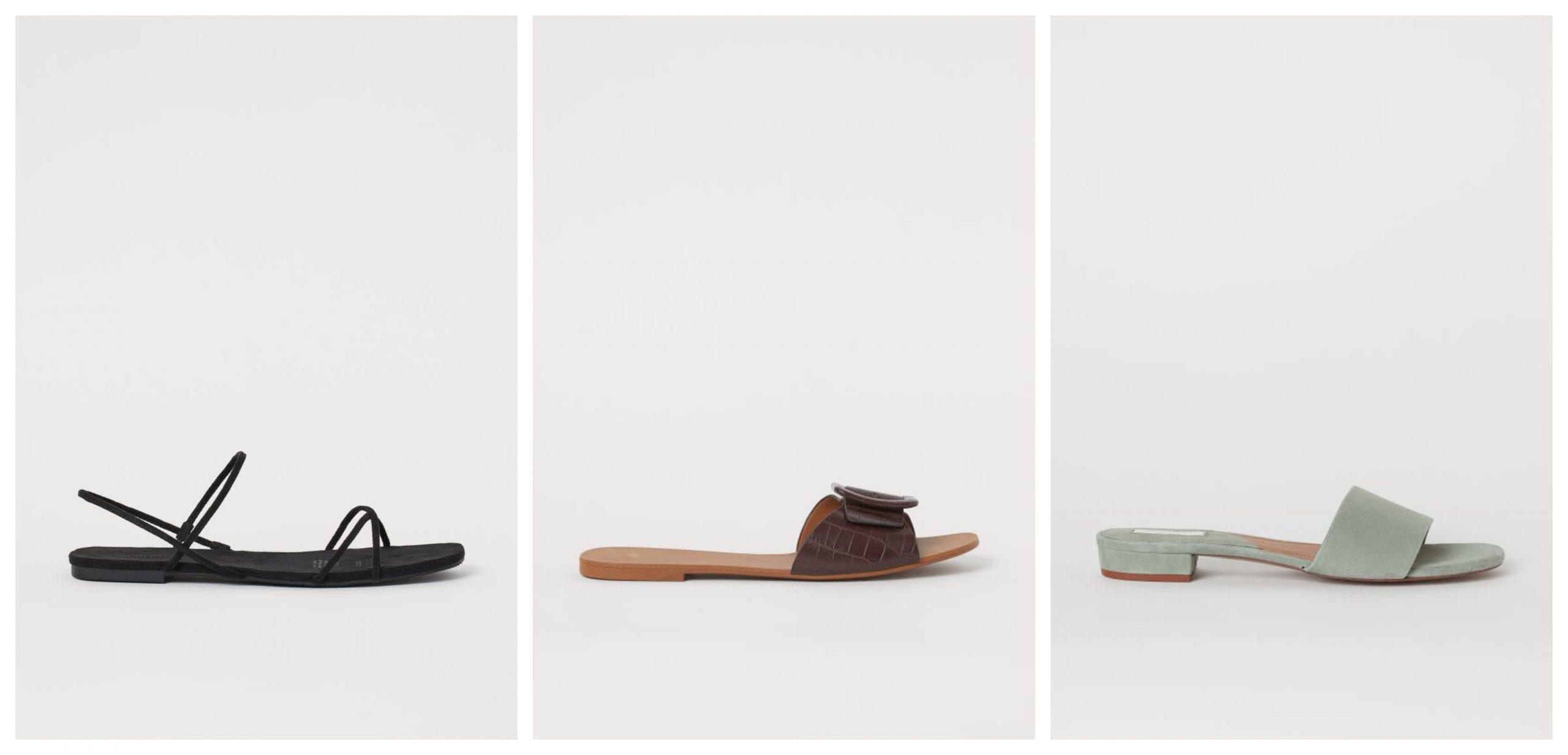 3 ideas de sandalias planas rebajadas de H&M para lucir este verano.