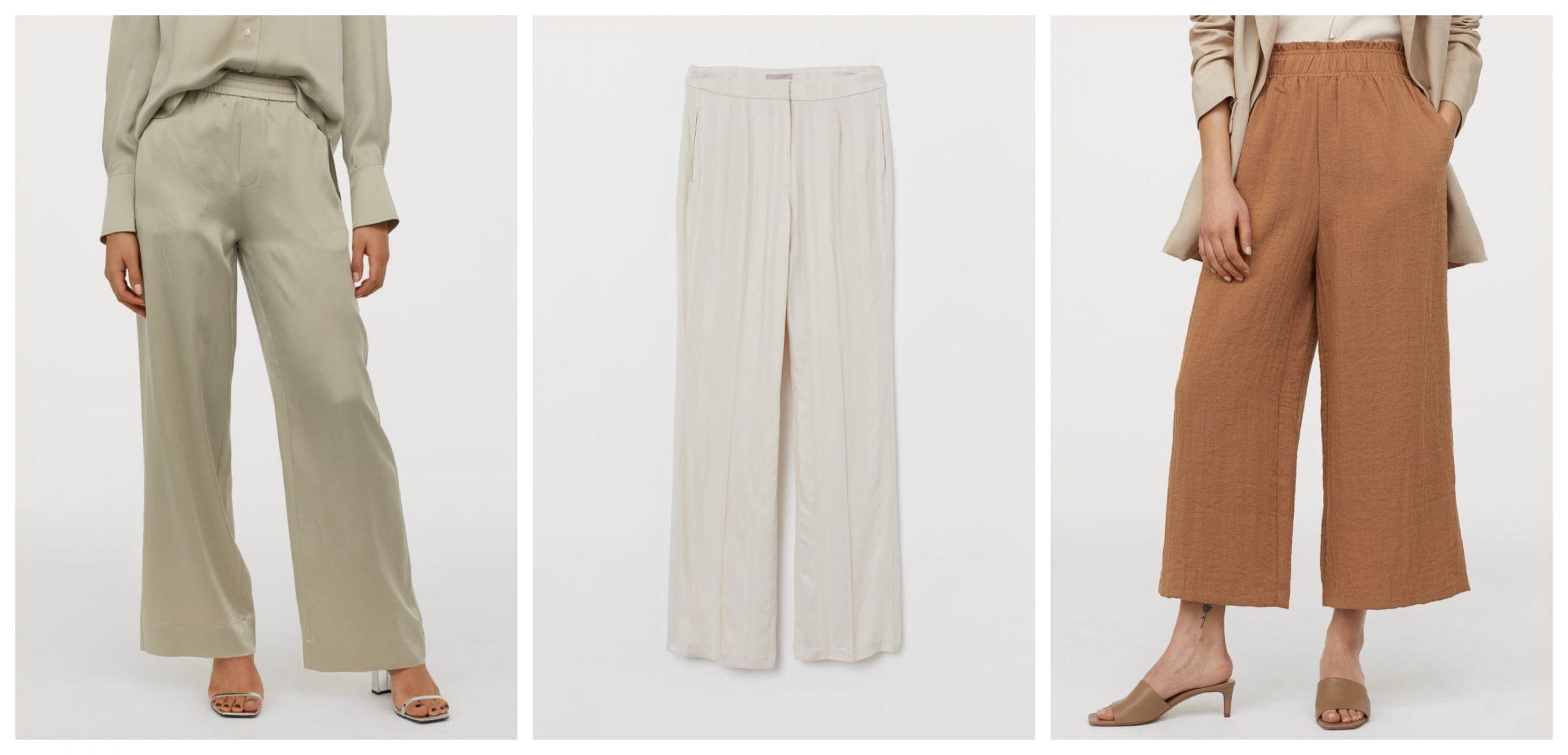 3 pantalones de h&m rebajados para lucir este verano con looks elegantes o de oficina