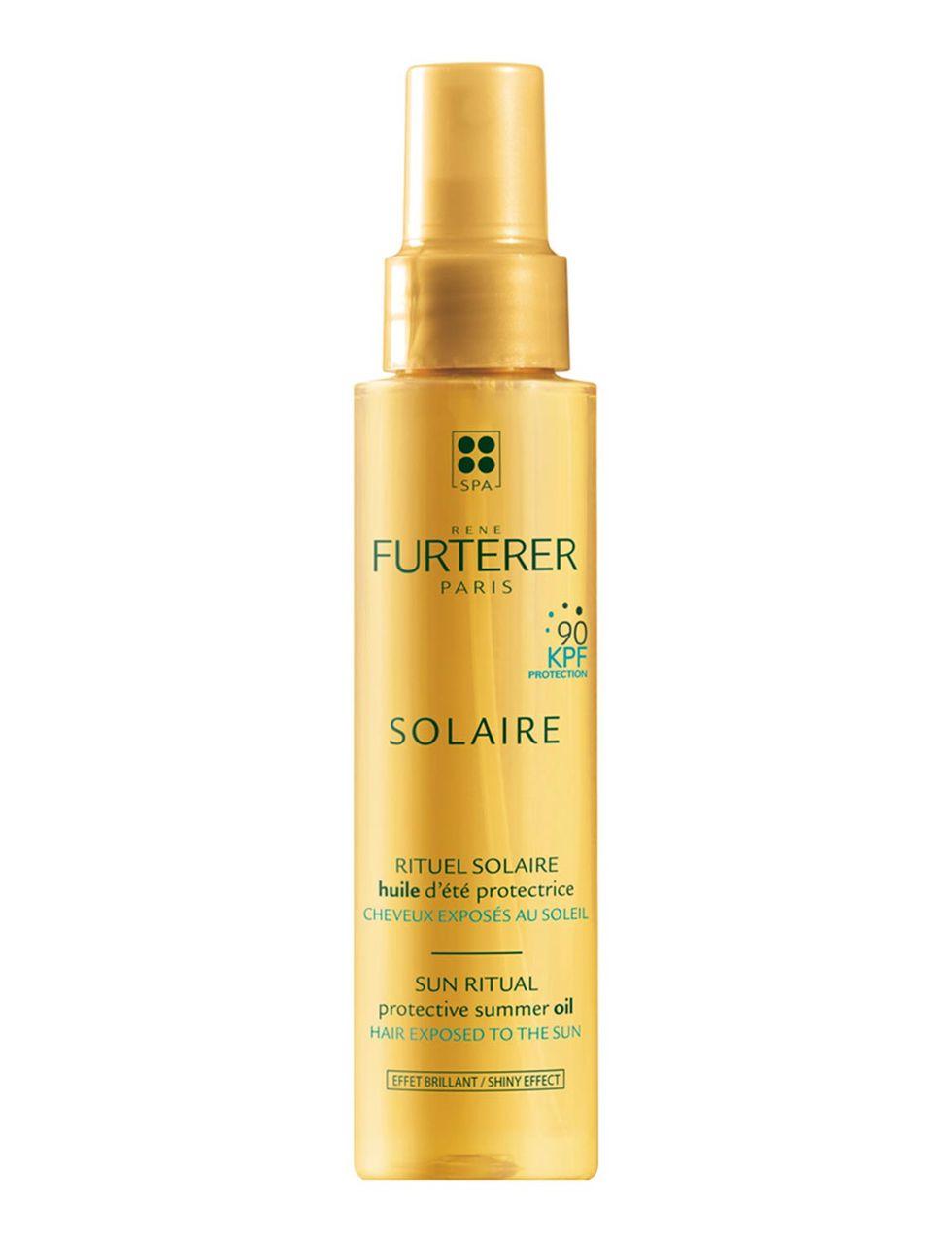 Protector solar de la marca Solaire, se encarga de proteger e hidratar el cabello.