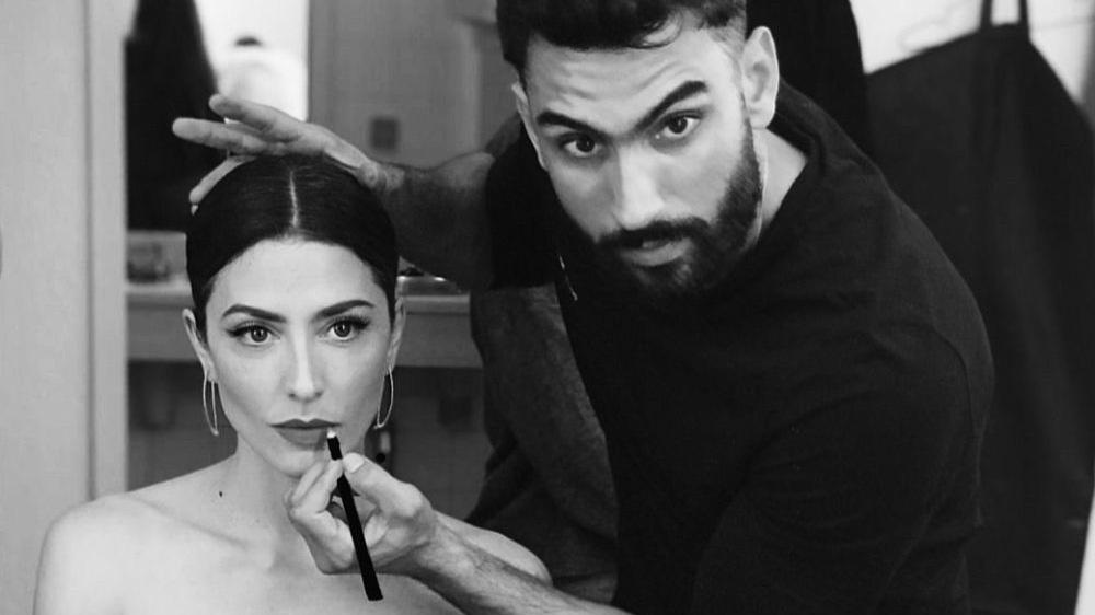 Iván Gómez, maquillador de las famosas