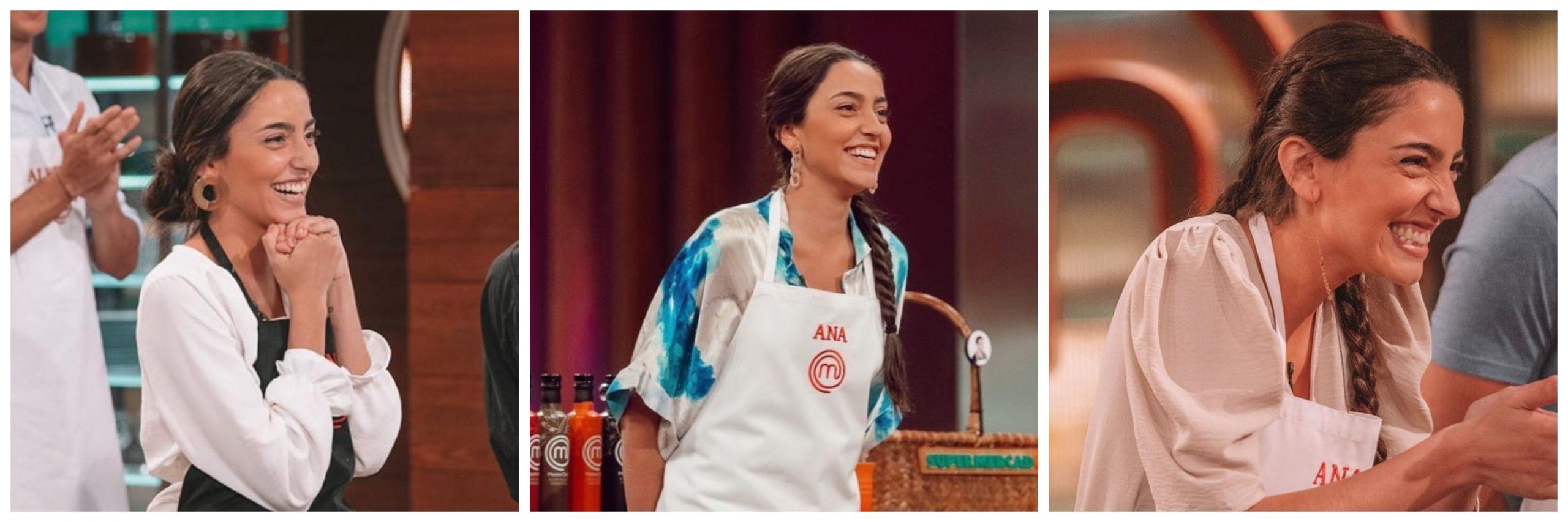 Ana, la ganadora de Masterchef en diferentes pruebas de Master Chef.
