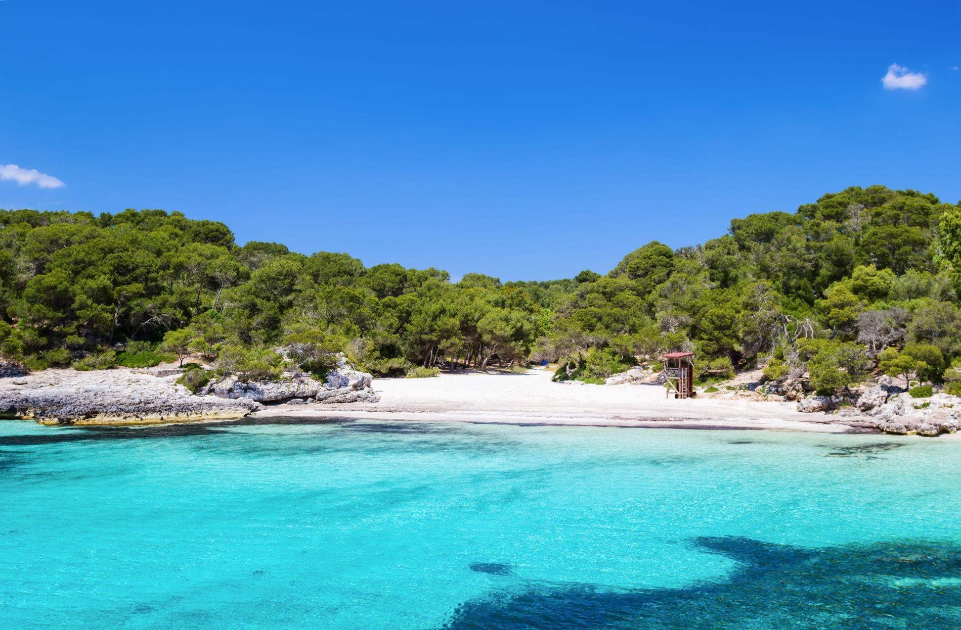 Cala Turqueta, paraíso azul